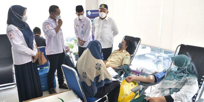 Hari Ini, Capaian Donor Darah ASN Pemerintah Aceh Lampaui Target