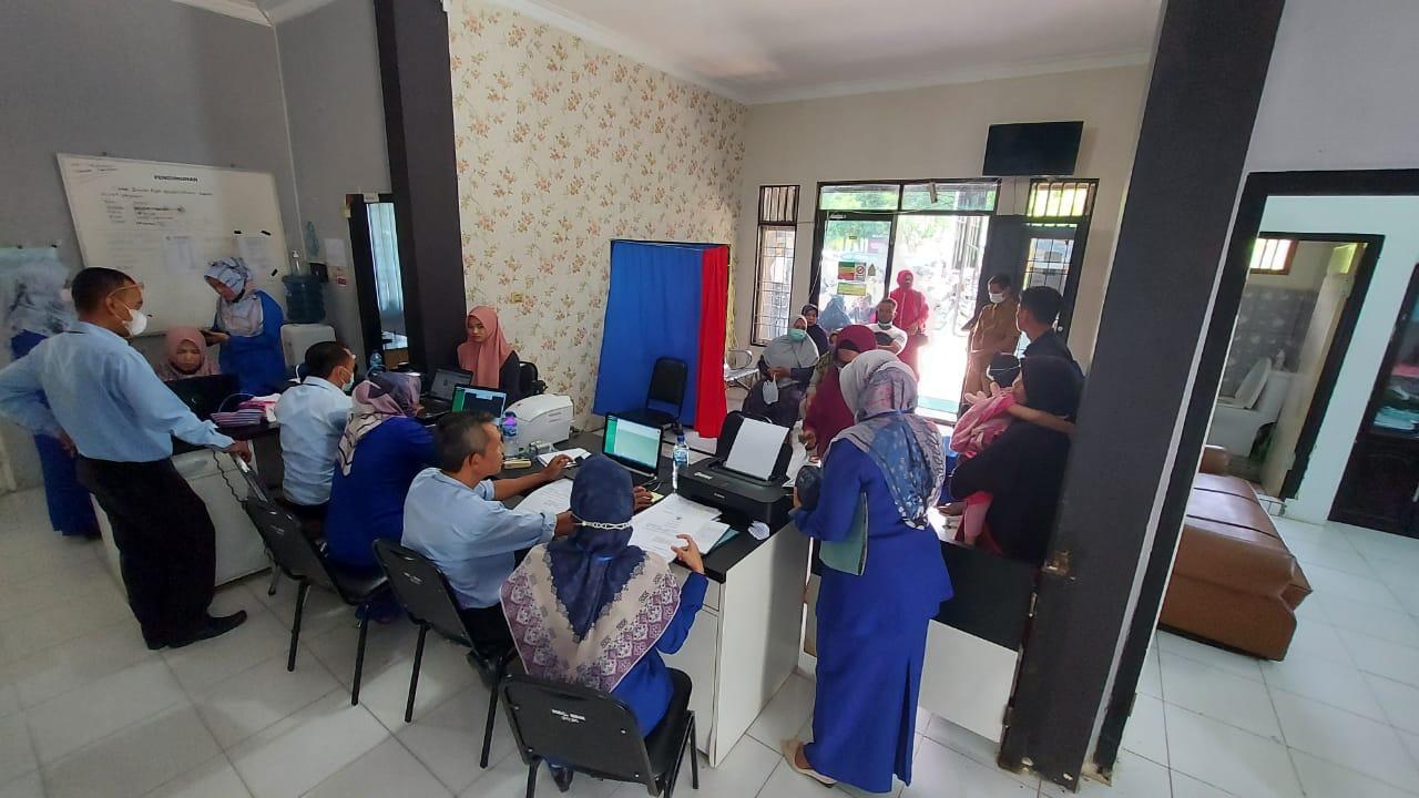 Kecamatan Banda Raya Sambut Baik Program Jebol Disdukcapil