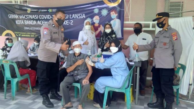 Pemko Banda Aceh Targetkan 40 Persen Lansia Divaksin Covid-19